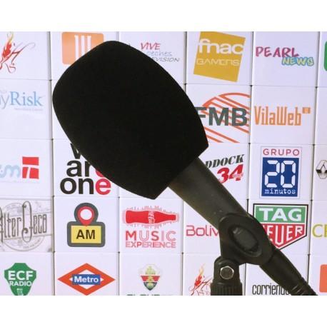 Mikrofon-Windschutz Quadrat