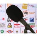 Mikrofon-Windschutz Quadrat 105x80mm.