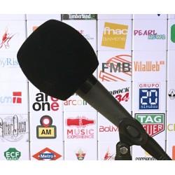 Mikrofon-Windschutz Rund