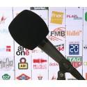 Mikrofon-Windschutz Rund 90x90mm.